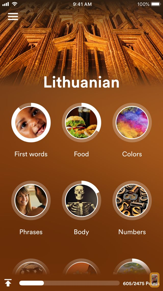 Screenshot - Learn Lithuanian - EuroTalk
