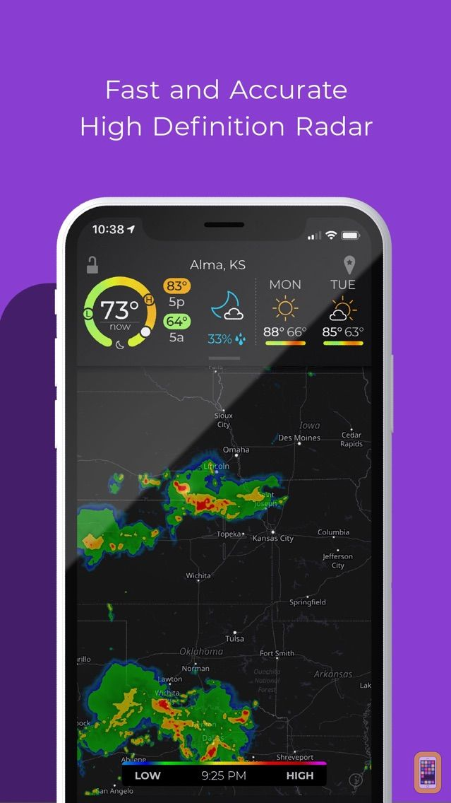 Screenshot - MyRadar Pro Weather Radar