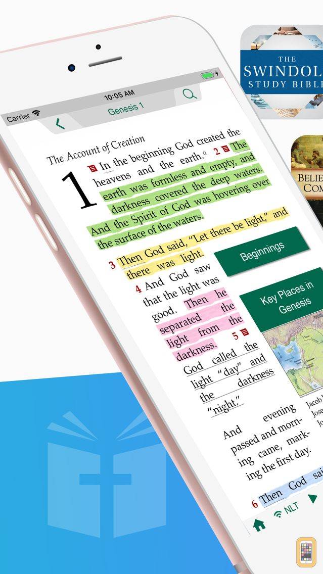 Screenshot - Tecarta Bible