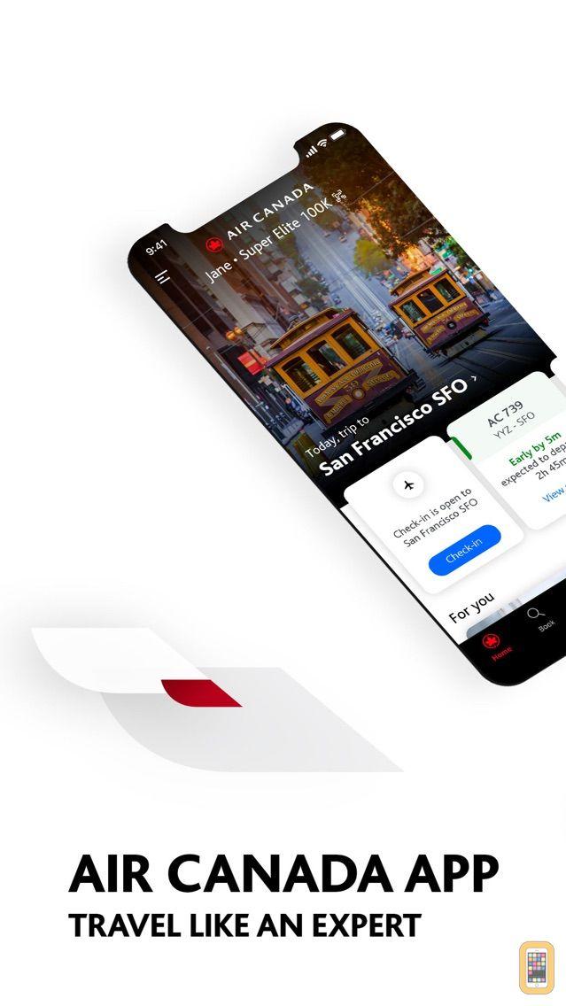 Screenshot - Air Canada + Aeroplan