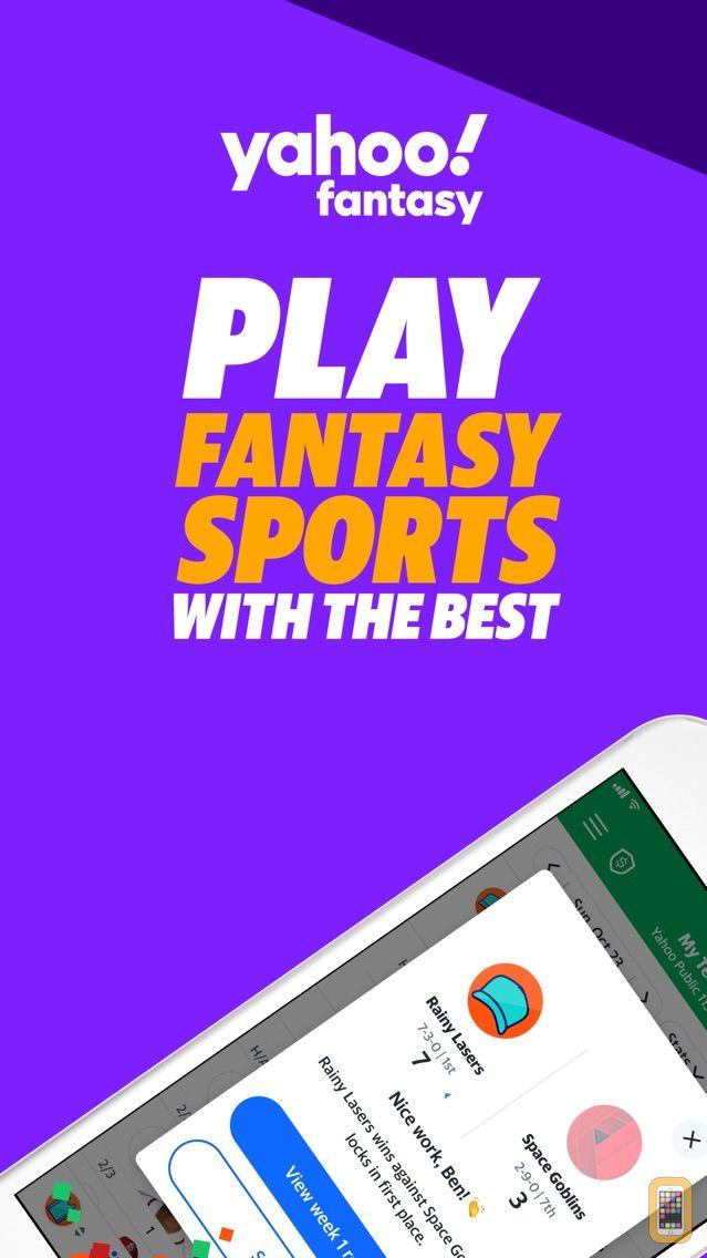 Screenshot - Yahoo Fantasy Football & more