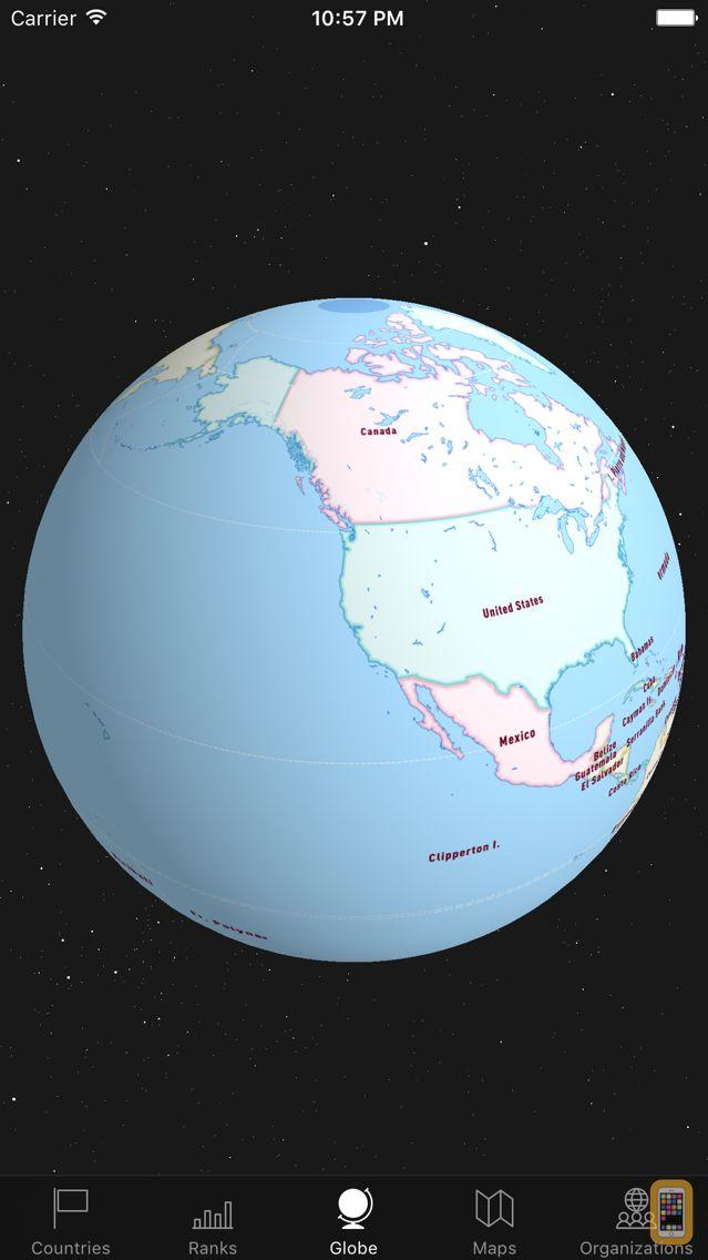 Screenshot - WorldABC Blue — The CIA World FactBook