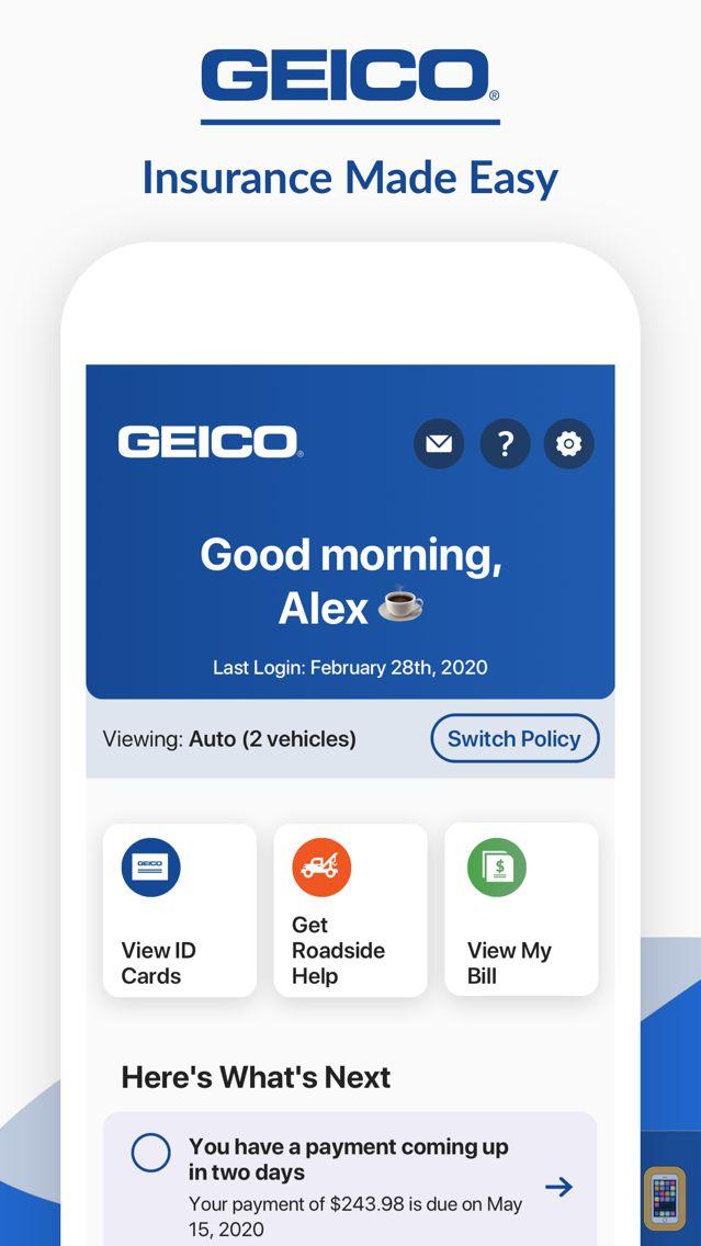 Screenshot - GEICO Mobile - Car Insurance