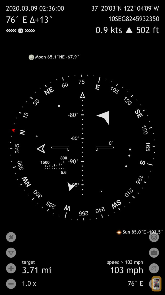 Screenshot - Commander Compass