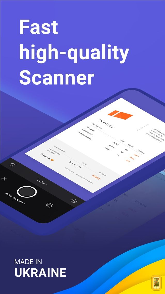 Screenshot - Scanner Pro