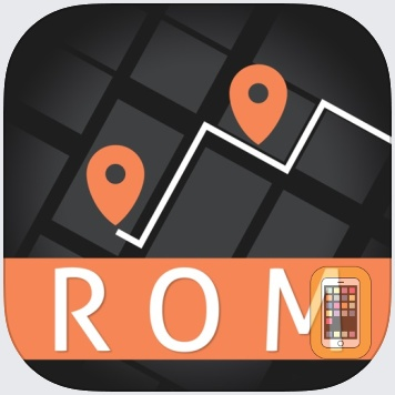 Rome Travel Guide and Offline City Map by eTips LTD (Universal)