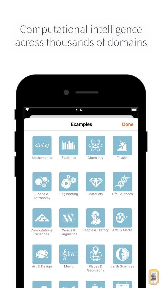 Screenshot - WolframAlpha