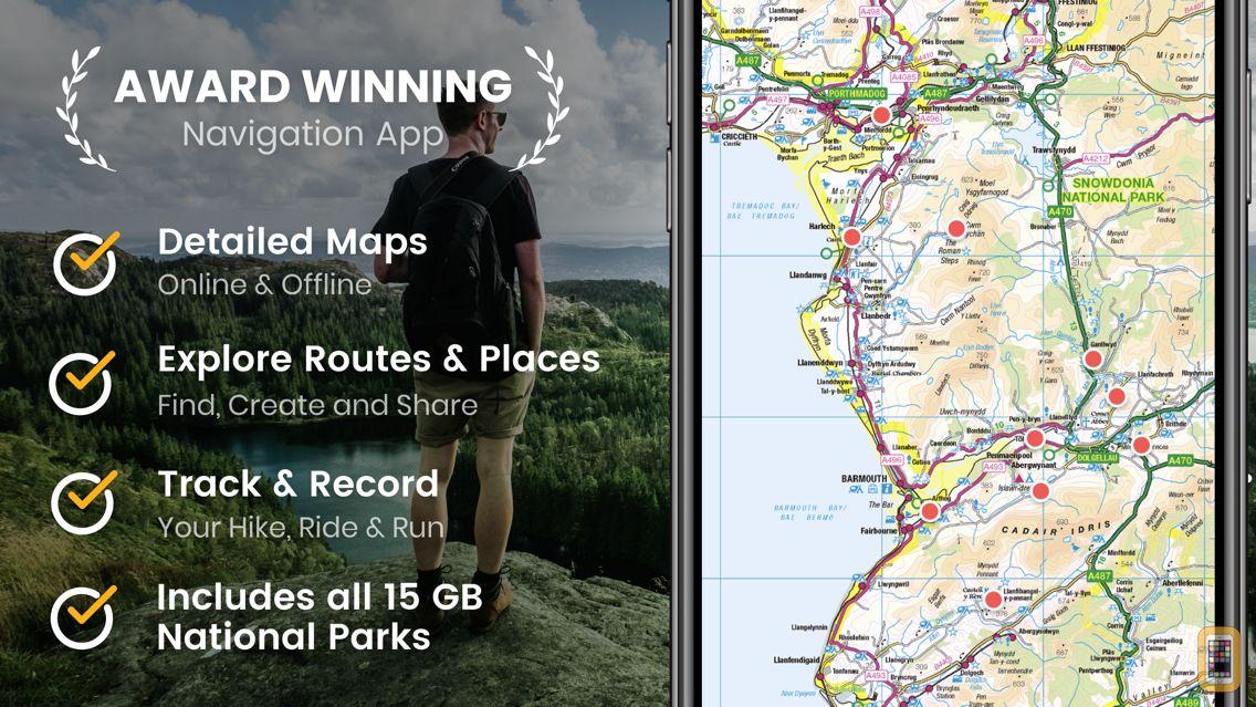 Screenshot - Outdoors GB - Offline OS Maps