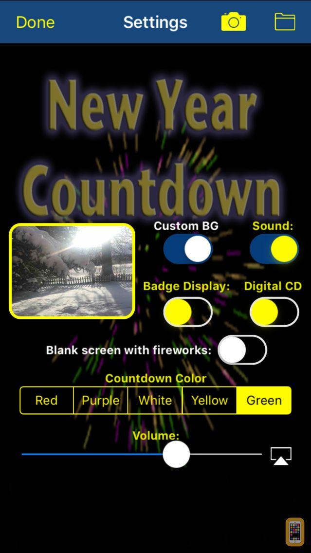 Screenshot - New Year Countdown