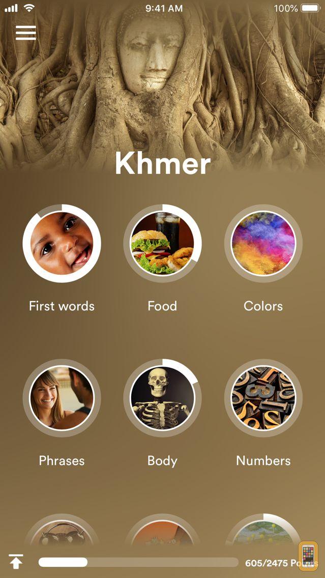 Screenshot - uTalk Classic Learn Khmer