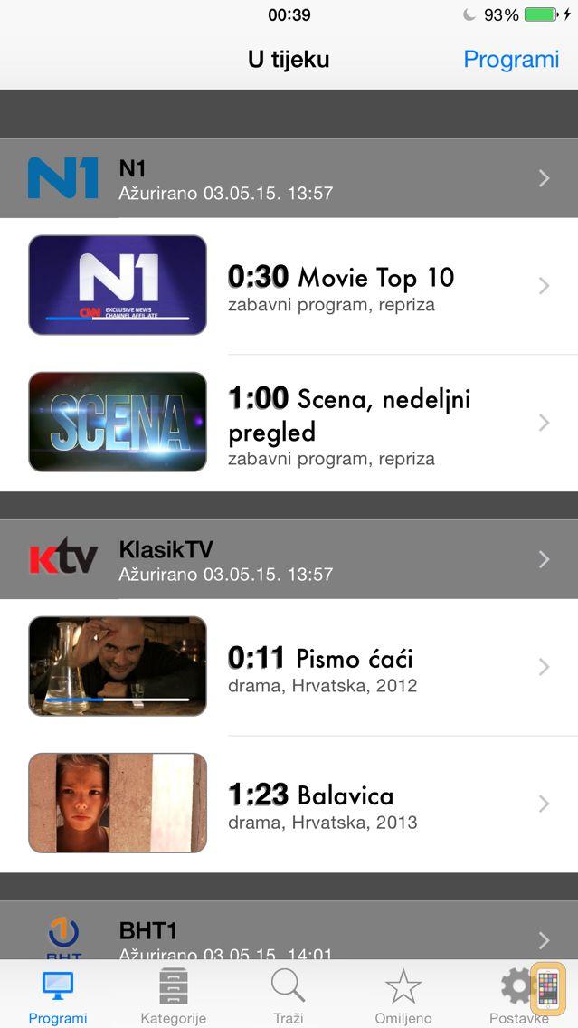 Screenshot - BiH TV