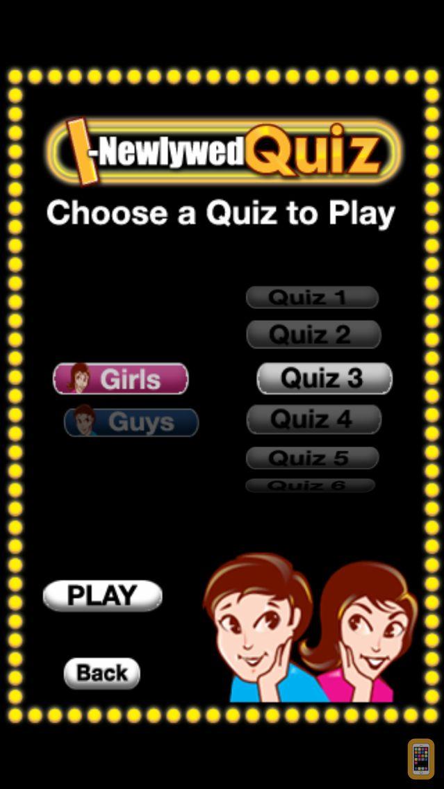 Screenshot - The I-Newlywed Quiz