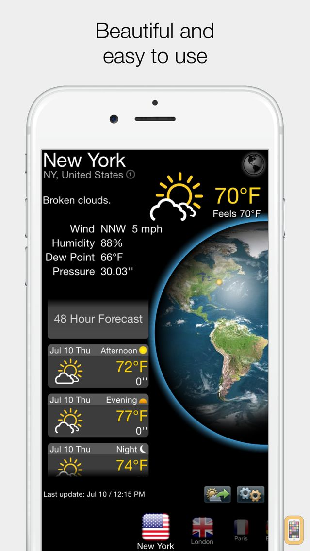 Screenshot - Real Weather Forecast