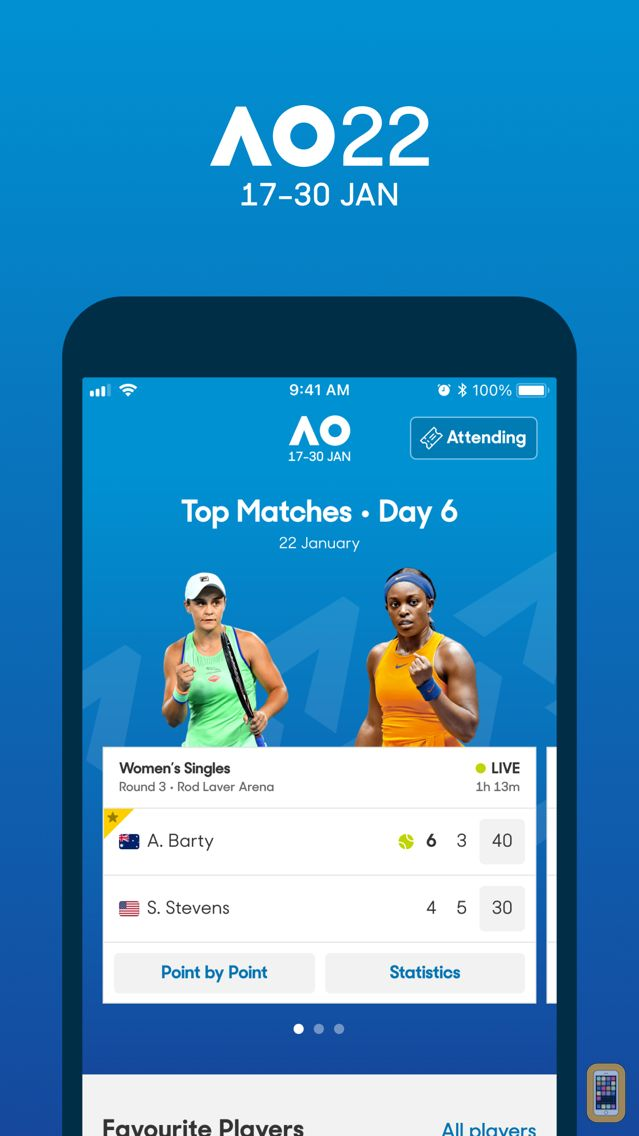 Screenshot - Australian Open Tennis 2020