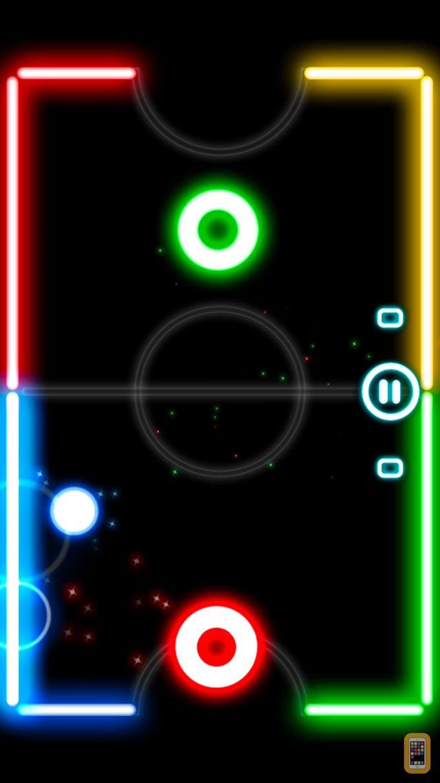 Screenshot - Glow Hockey 2L