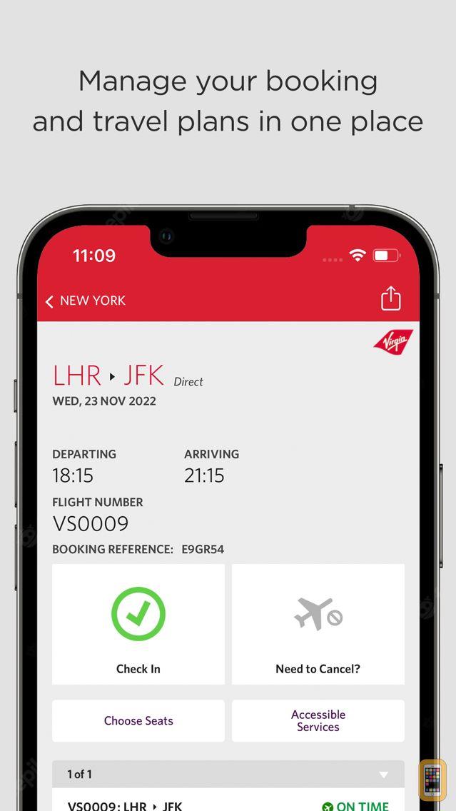 Screenshot - Virgin Atlantic
