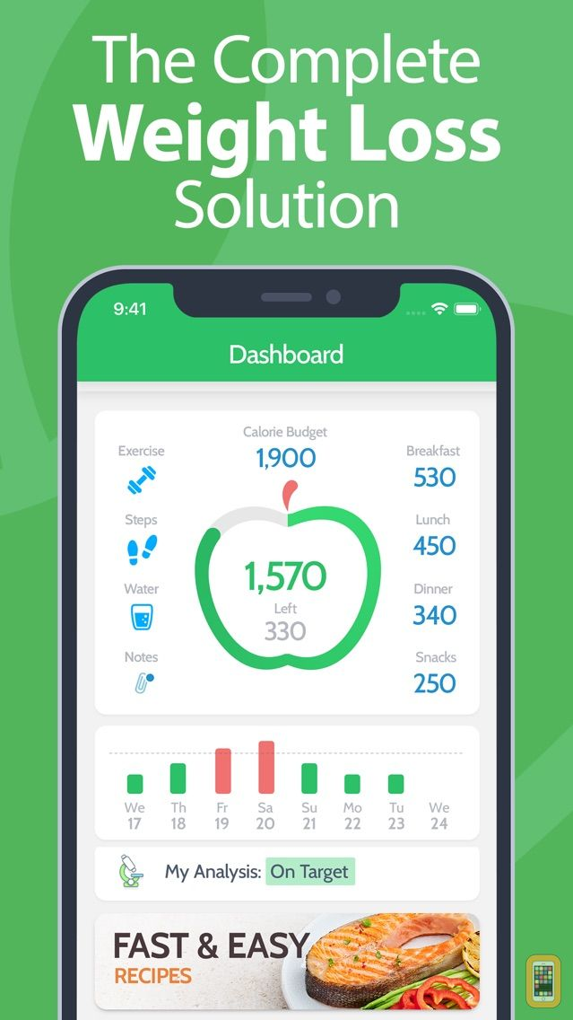 Screenshot - Calorie Counter PRO MyNetDiary