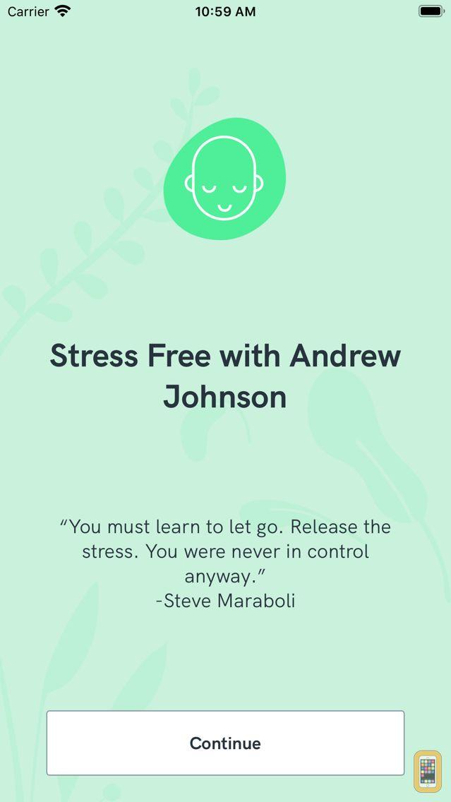 Screenshot - Stress Free with Andrew Johnson