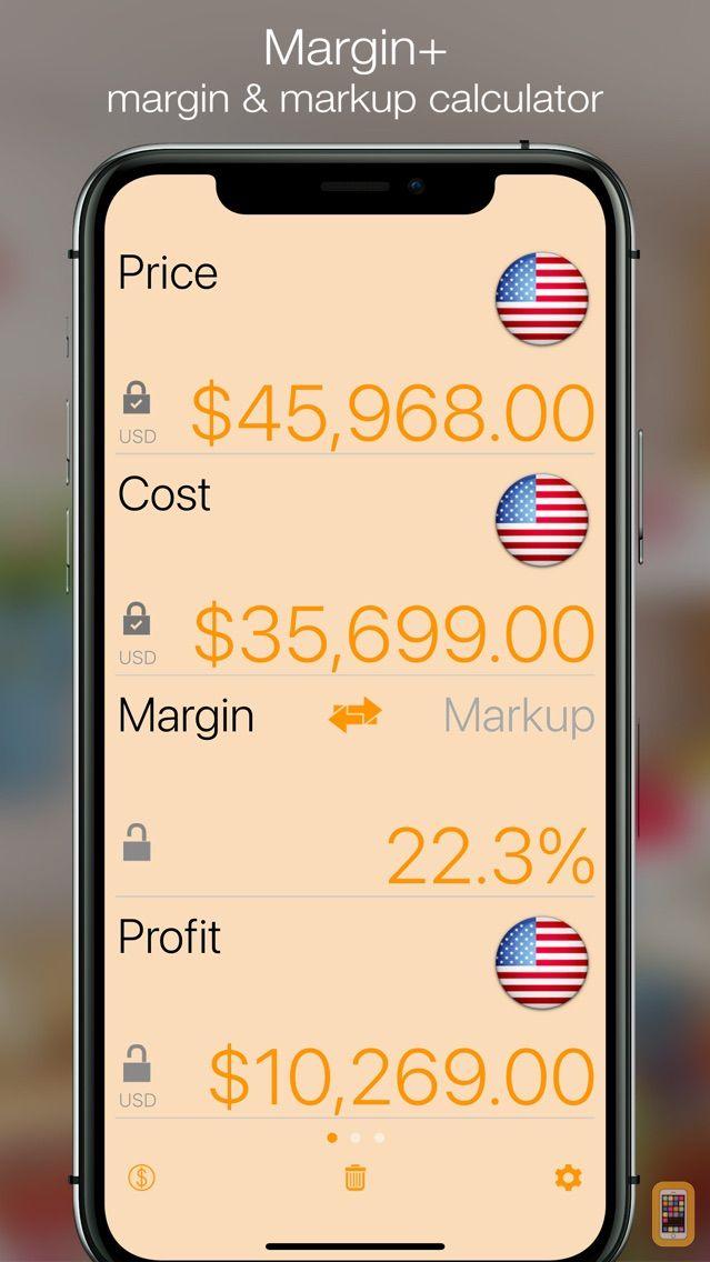Screenshot - Margin+ (Margin Calculator)