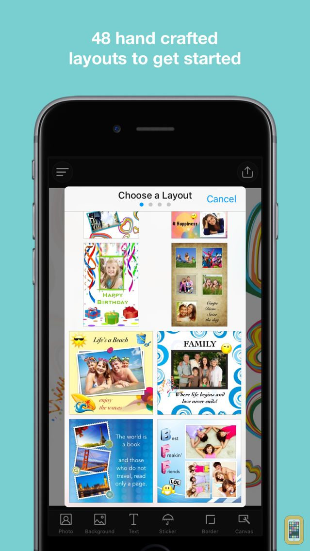 Screenshot - Photo Wall Pro - Collage App