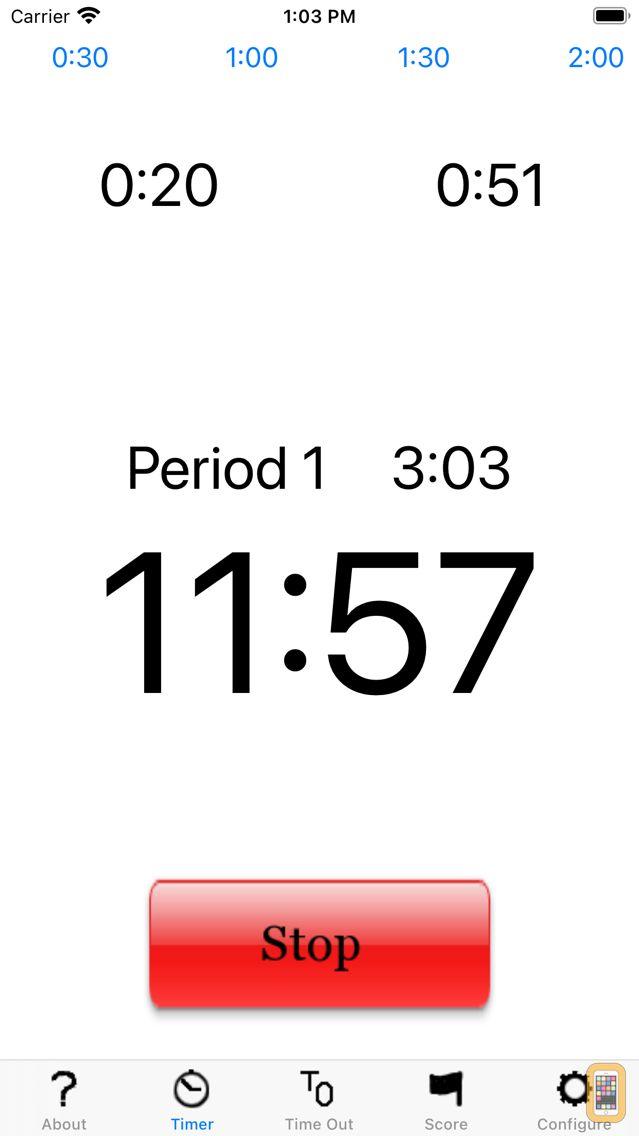 Screenshot - LAX Time & Score