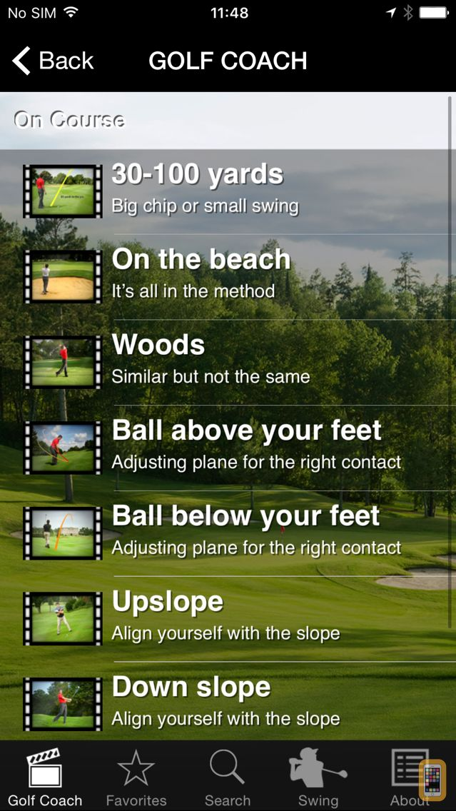Screenshot - Golf Coach by Dr Noel Rousseau