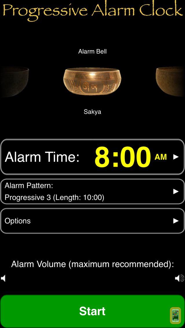 Screenshot - Progressive Alarm Clock