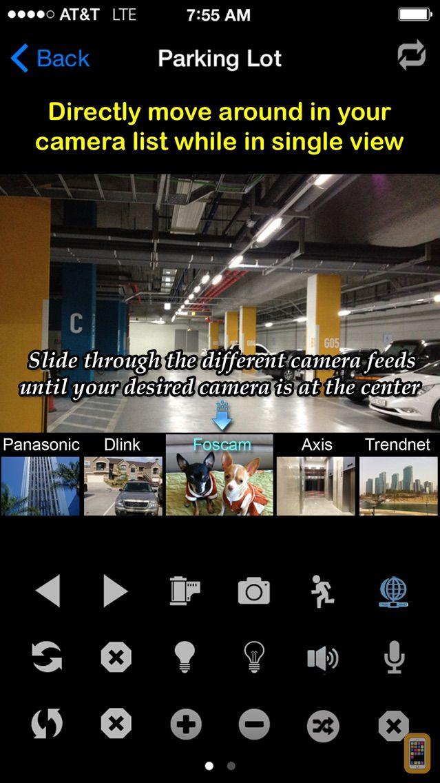 Screenshot - uCamPro: IP Camera & Webcam Viewer