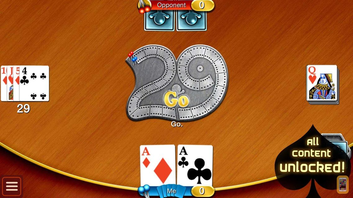 Screenshot - Cribbage HD