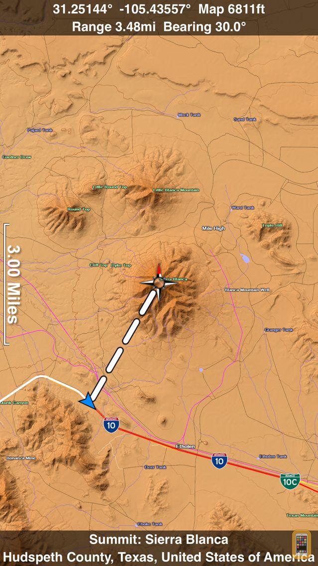 Screenshot - Scenic Map Central USA
