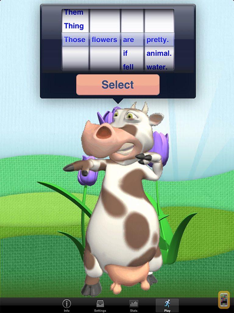 Screenshot - SentenceBuilder™ for iPad