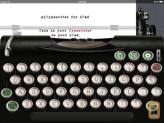 Screenshot - miTypewriter for iPad