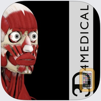 Muscle System Pro III by 3D4Medical from Elsevier (iPad)
