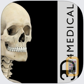 Skeleton System Pro III by 3D4Medical from Elsevier (iPad)