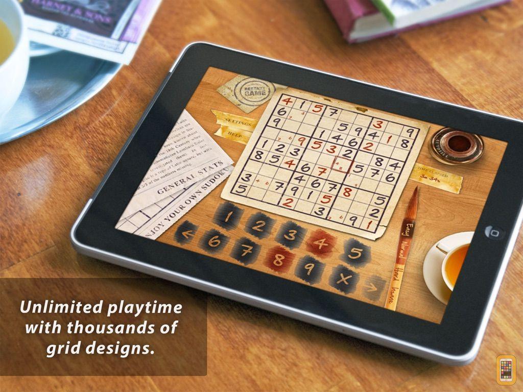 Screenshot - Sudoku HD for iPad