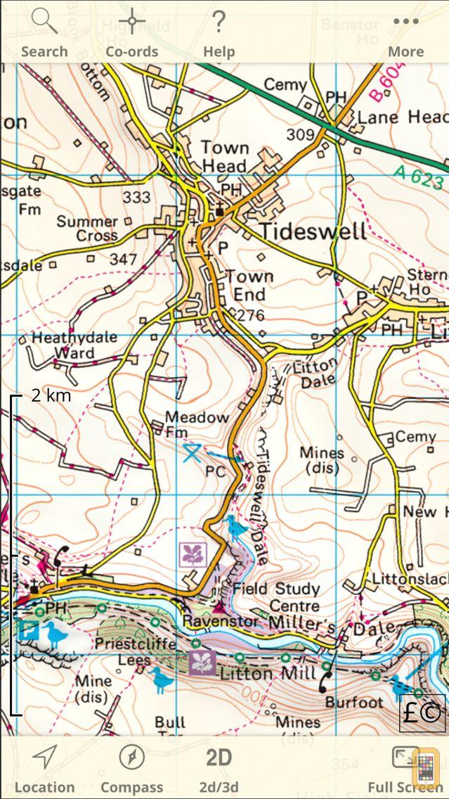 Screenshot - UK Map