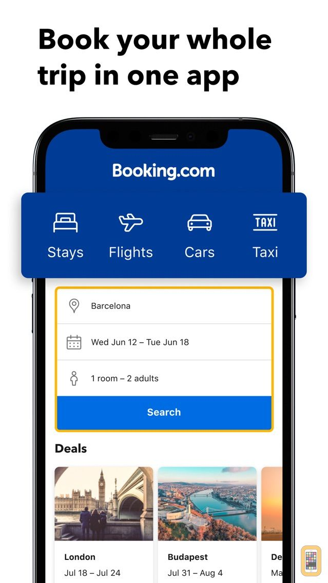 Screenshot - Booking.com: Hotels & Travel