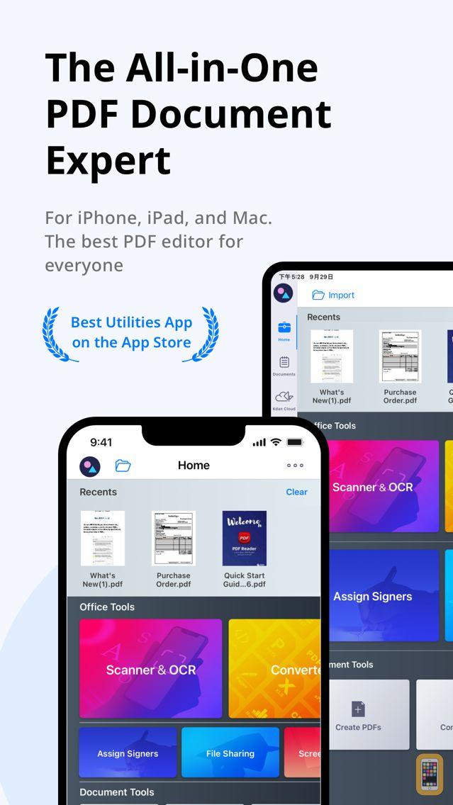 Screenshot - PDF Reader-Expert PDF Editor