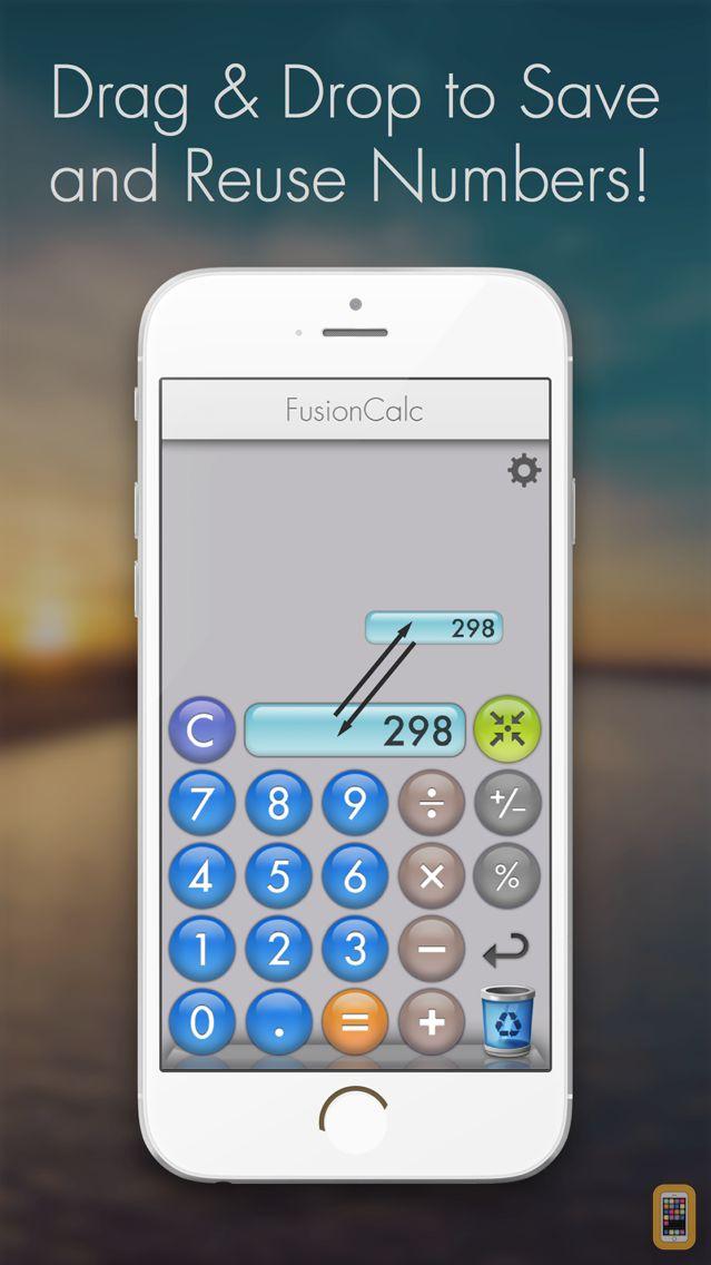 Screenshot - Fusion Calculator