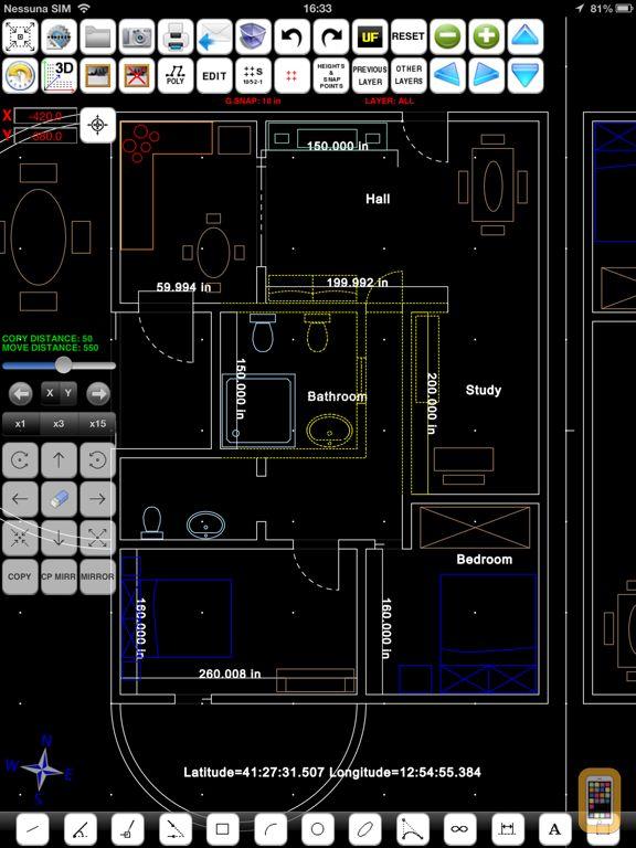 Screenshot - FingerCAD HD