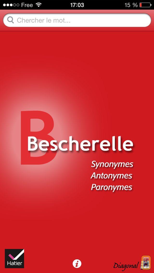 Screenshot - Bescherelle Synonymes