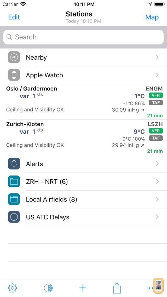 Screenshot - AeroWeather Pro