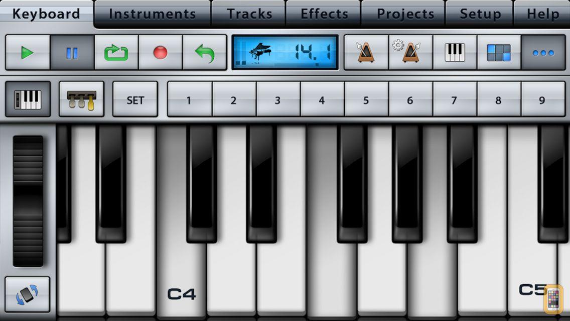 Screenshot - Music Studio Lite