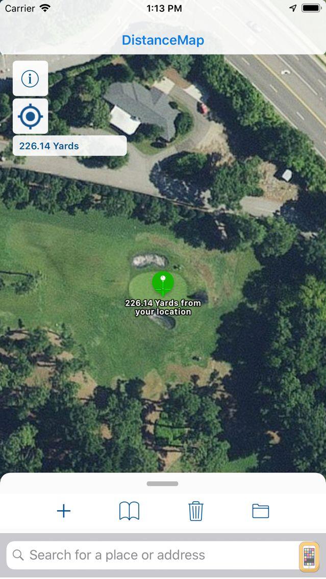 Screenshot - DistanceMap
