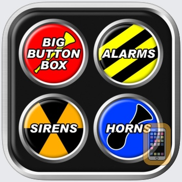 Big Button Box: Alarms, Sirens & Horns - sound fx by Shaved Labs Ltd (iPhone)