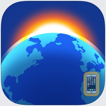 Living Earth - Clock & Weather by Radiantlabs, LLC (Universal)