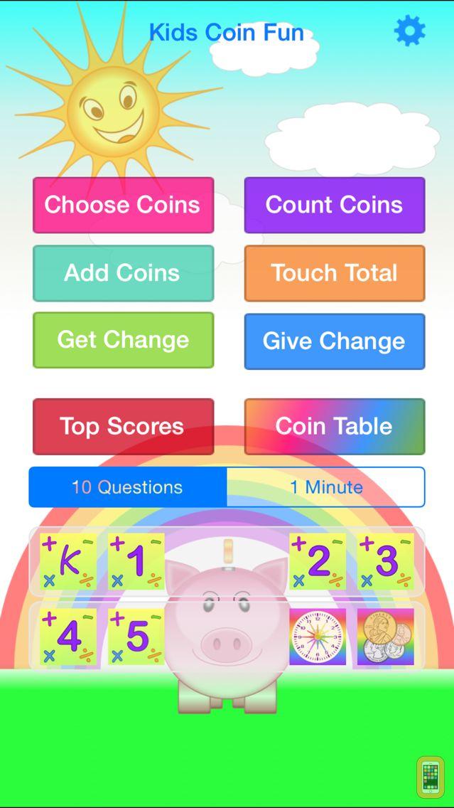Screenshot - Kids Coin Fun