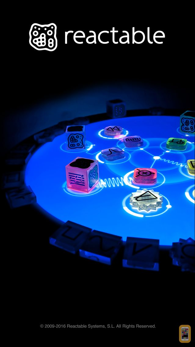 Screenshot - Reactable mobile