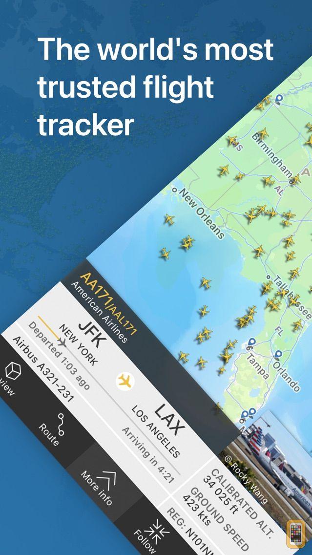 Screenshot - Flightradar24 | Flight Tracker