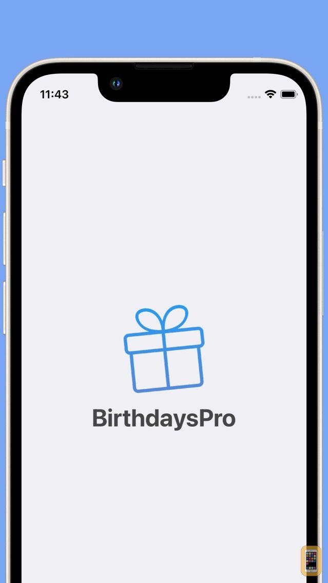 Screenshot - BirthdaysPro